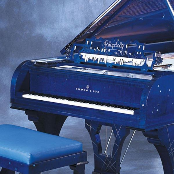 施坦威钢琴 蓝色狂想曲